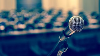 """Panel: Tips for writing your best """"big speech"""""""