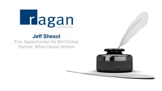 2016 Speechwriters Conference: Ragan presents Jeff Shesol
