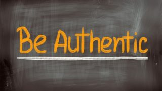 Be more authentic! And help leaders speak in authentic voices, too